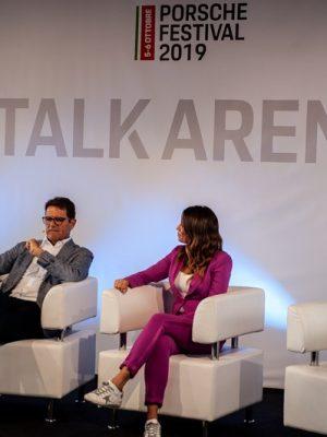 Fabio Capello al Talk Arena del Porsche Festival 2019, Misano World Circuit