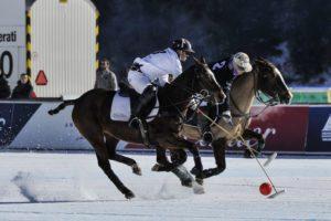 Snow polo St. Moritz momenti di gioco. foto credit: gpiazzophotography