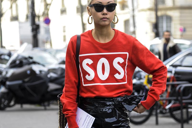 Paris street stye, Paris fashion week