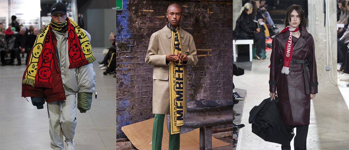 banner sciarpe: Lanvin, Vetements, Stella McCartney