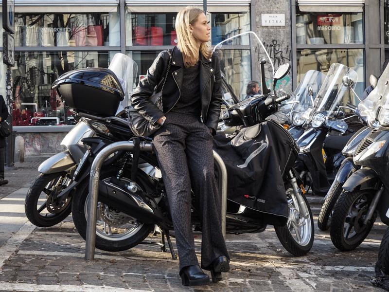 Street Style, Milan Fashion Week by Gaetano Piazzolla/GPiazzoPhotography