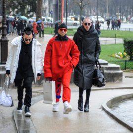 Parigi Fashion Week Uomo A/I 2018.Streetstyle