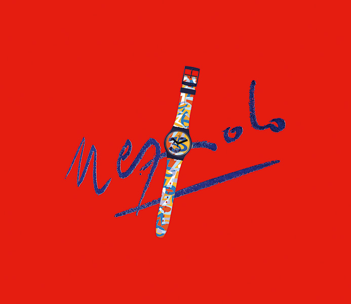 35 anni di Swatch Ugo Nespolo