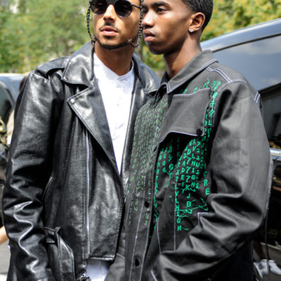 Quincy and Christian Combs