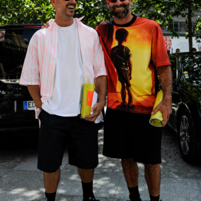 Bratislav Tasic and Marcelo Burlon
