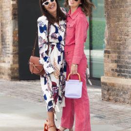London street style woman fashion week