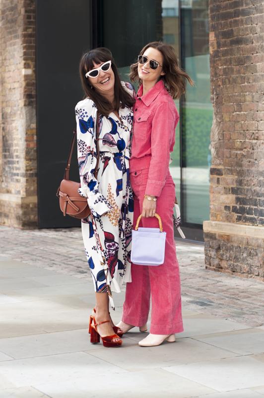 I migliori look di street style visti durante la Londra Fashion week donna primavera estate 2019. London Fashion week street style