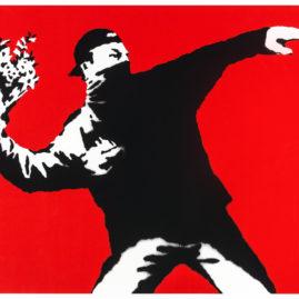 """""""A Visual Protest. The Art of Banksy"""".Un progetto espositivo curato da Gianni Mercurio. Tale progetto raccoglierà un'ottantina di lavori di Banksy, che racconteranno con uno sguardo retrospettivo, il suo pensiero."""