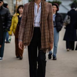 Paris men's fashion, street style