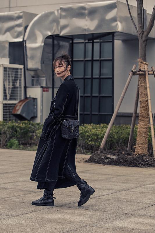 d35211b9f345 Shanghai Fashion week. Street style - Moda   Motori Magazine