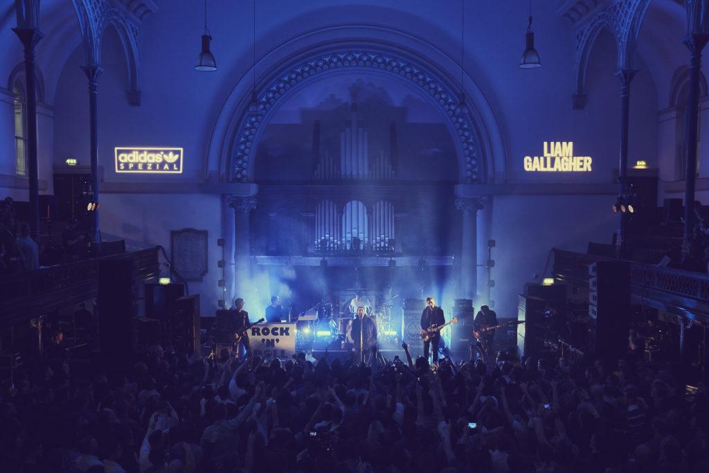 adidas Spezial e Liam Gallagher in concerto