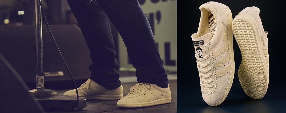adidas e Liam Gallagher: omaggio alla musica