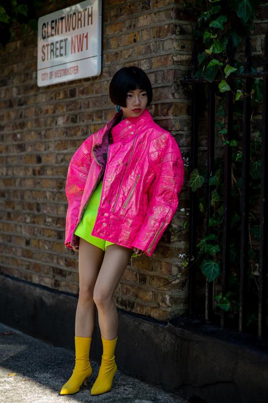 london fashion week street stykle