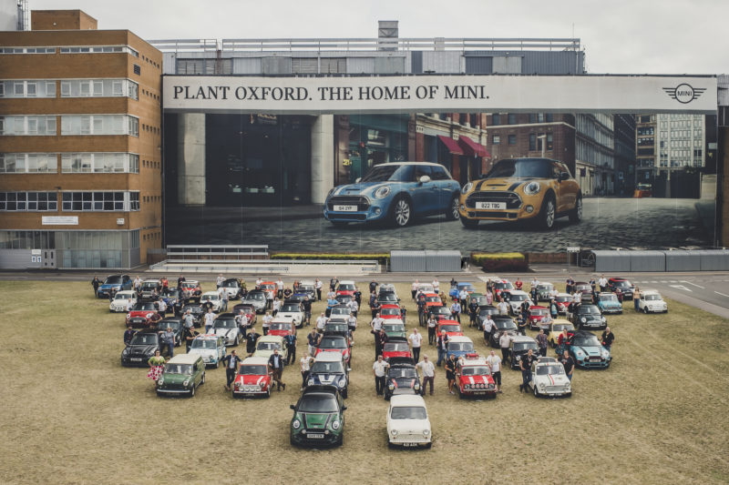 MINI, 60th years of an iconic car