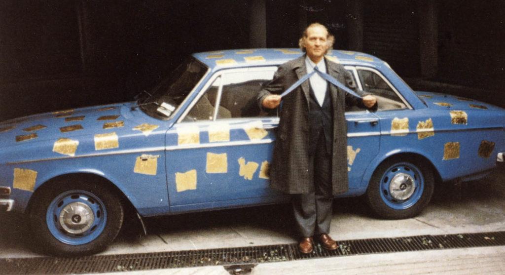 Remo Bianco: l'Appropriazione della Volvo dell'Artista