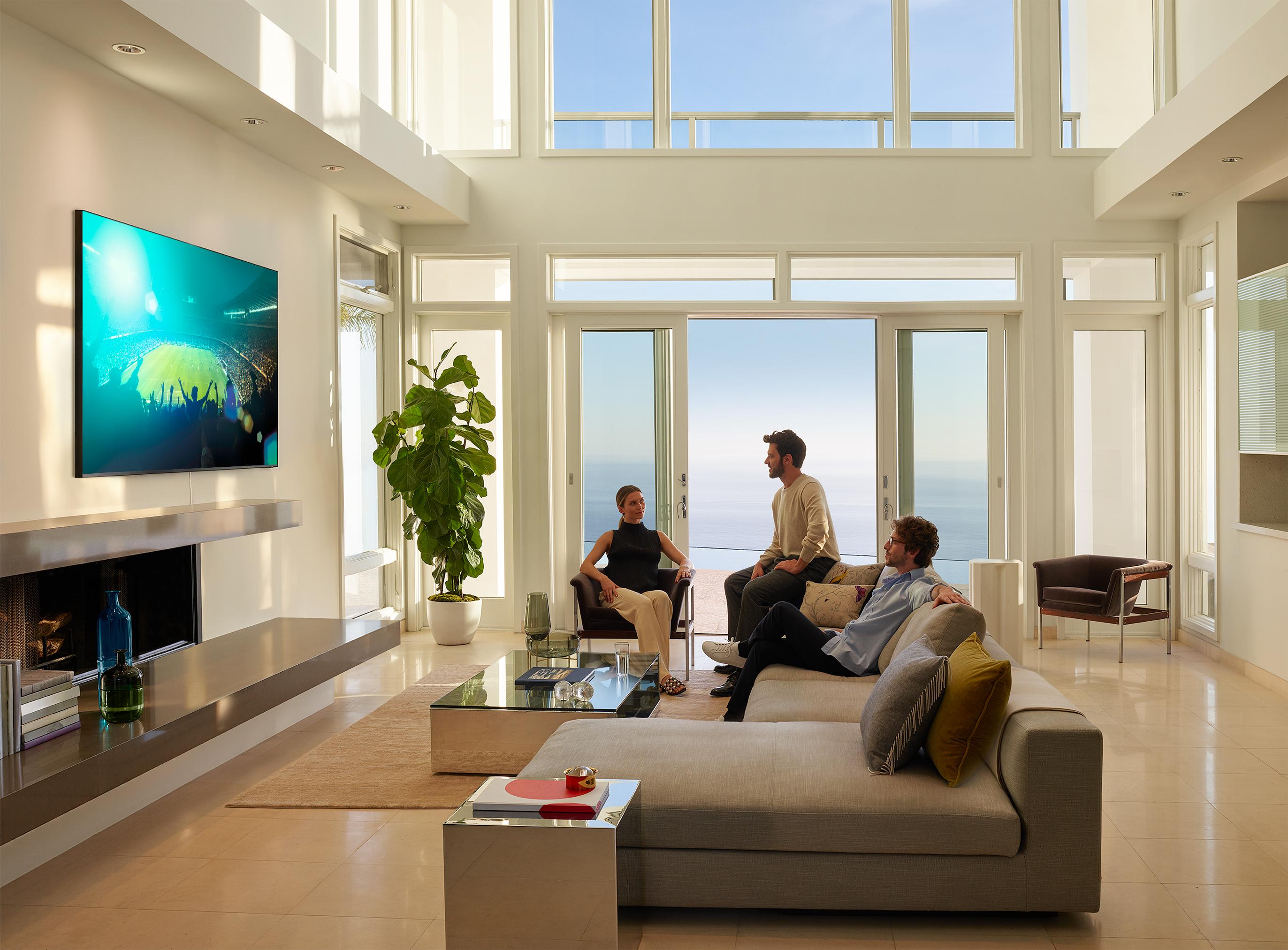 Calcio in tv: Samsung QLED TV Sport