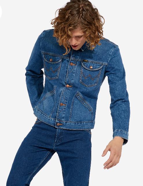 Il giubbino jeans stile Brad Pitt