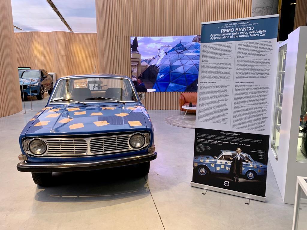 Remo Bianco: l'Appropriazione della Volvo dell'Artista.