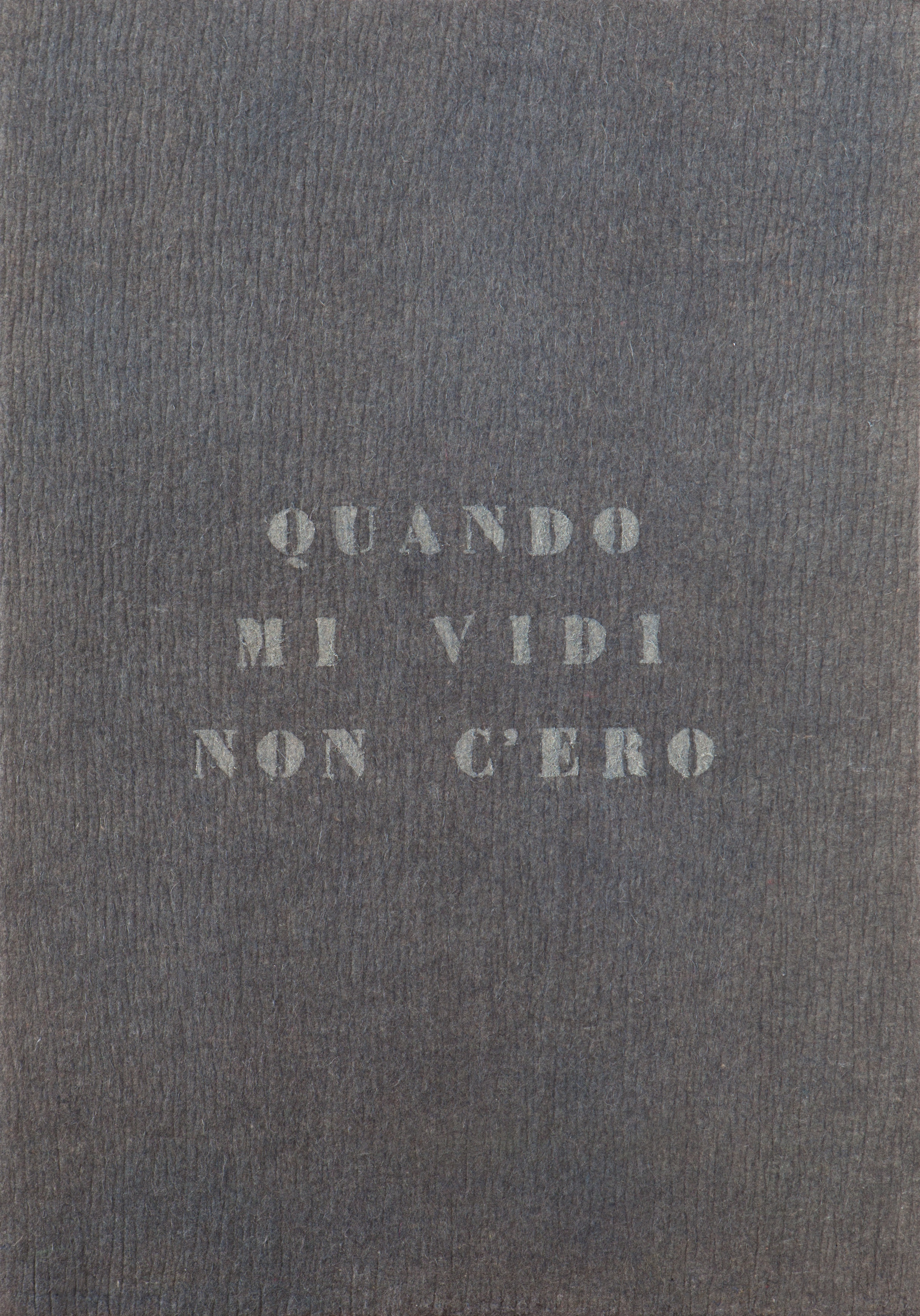 """Building presenta Vincenzo Agnetti """"Autoritratti Ritratti, Scrivere"""". Ottenere quadri dalla scrittura e utilizzarli come stimolo per altri scritti."""
