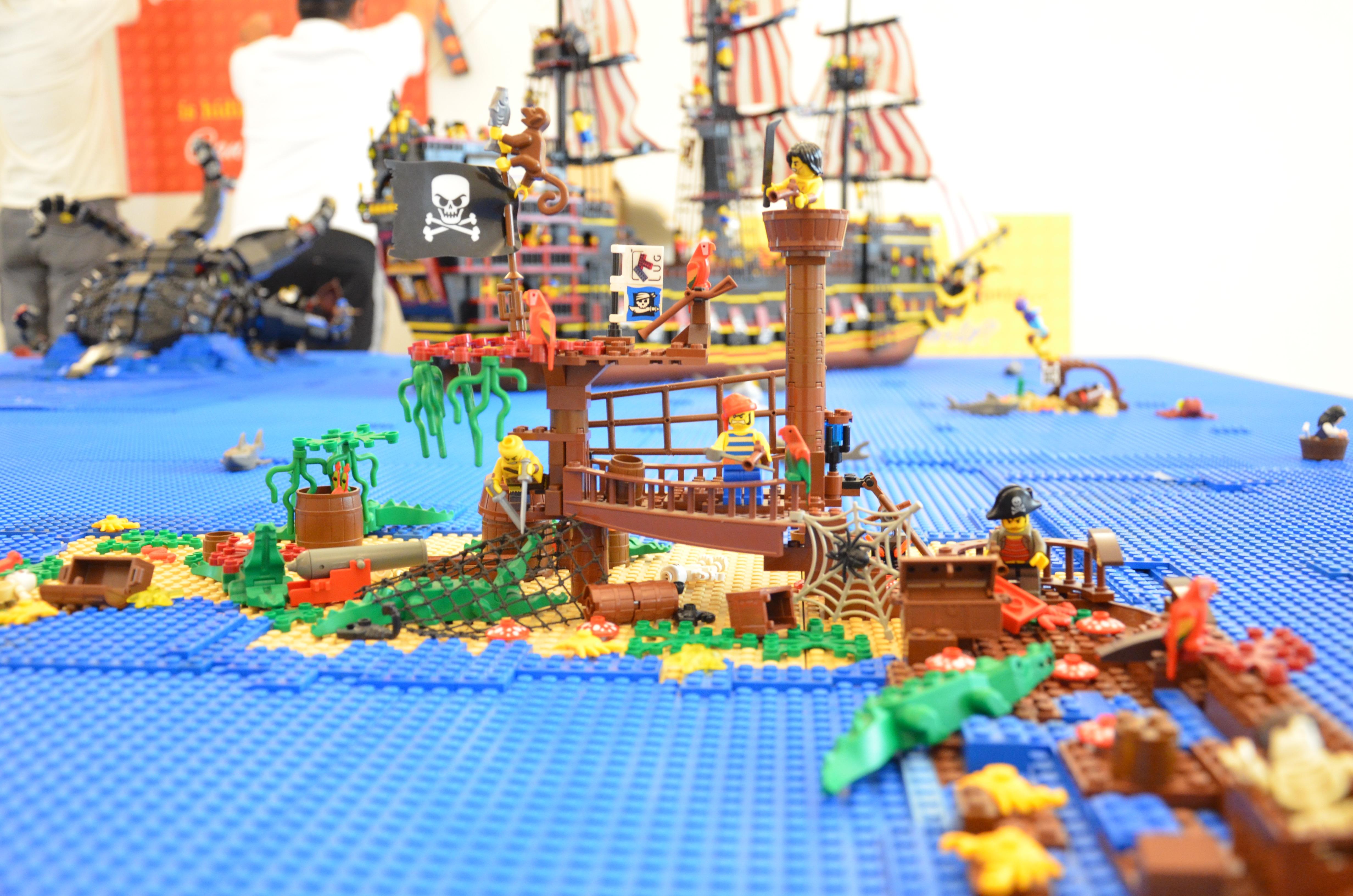 """la mostra""""I Love LEGO"""", occasione imperdibile per immergersi in un'atmosfera magica e divertente, che ha come protagonista i """"mattoncini prodigiosi"""""""
