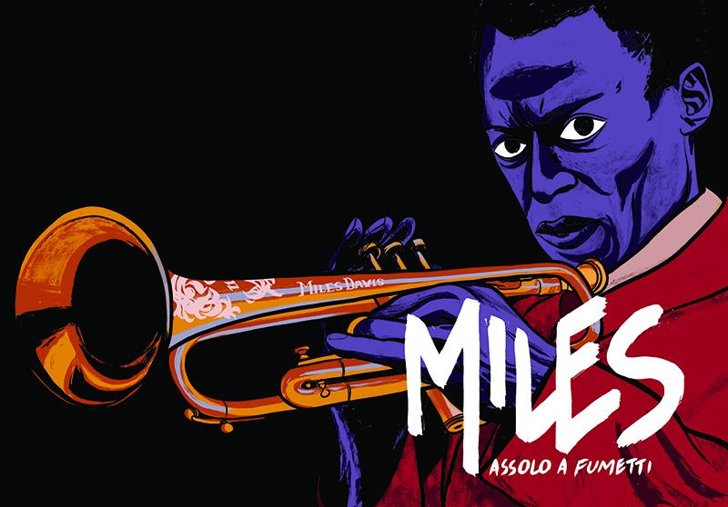 """Il Blue Note Milano in collaborazione con il festival JAZZMI, ospita la mostra """"Miles. Assolo a Fumetti"""", del fumettista e disegnatore Lucio Ruvidotti."""