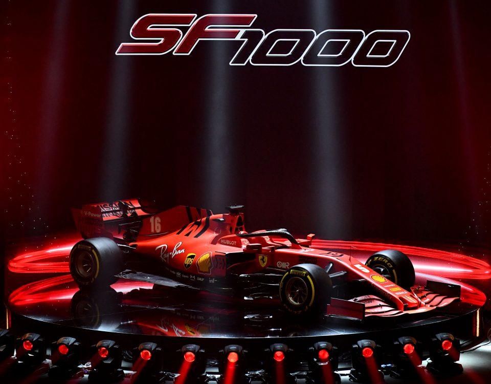 A Reggio Emilia, presso il Teatro Municipale Romolo Valli, è stata presentata la nuova Ferrari SF1000 che correrà nella stagione 2020 di F1.