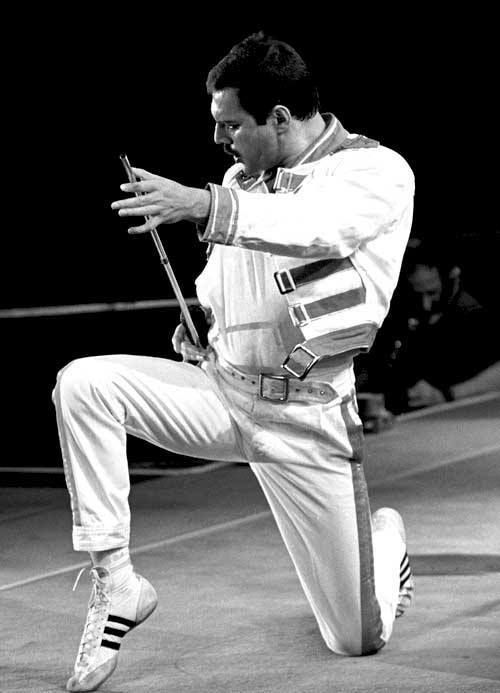 Freddie Mercury adidas