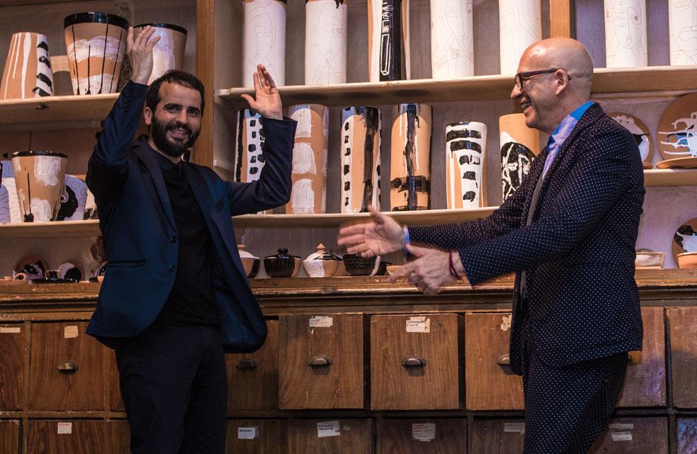 """L'intervista a due icone del design. Antonio Marras, stilista. Vincenzo D'Alba, architetto e designer di Kiasmo.Un incontro nato da uno """"scontro""""."""