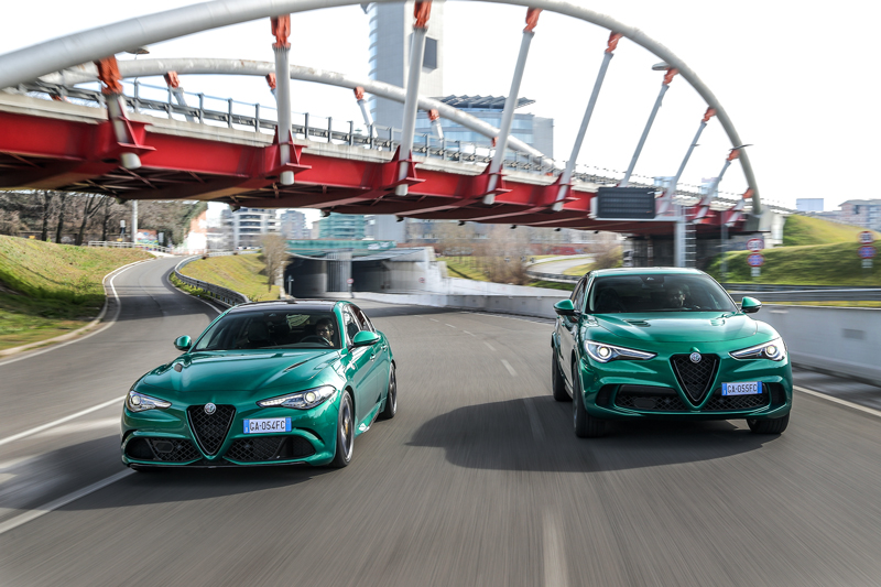 At this particular moment, Alfa Romeo does not give up its dynamic spirit and presents the new Giulia and Stelvio Quadrifoglio Model Year 2020.
