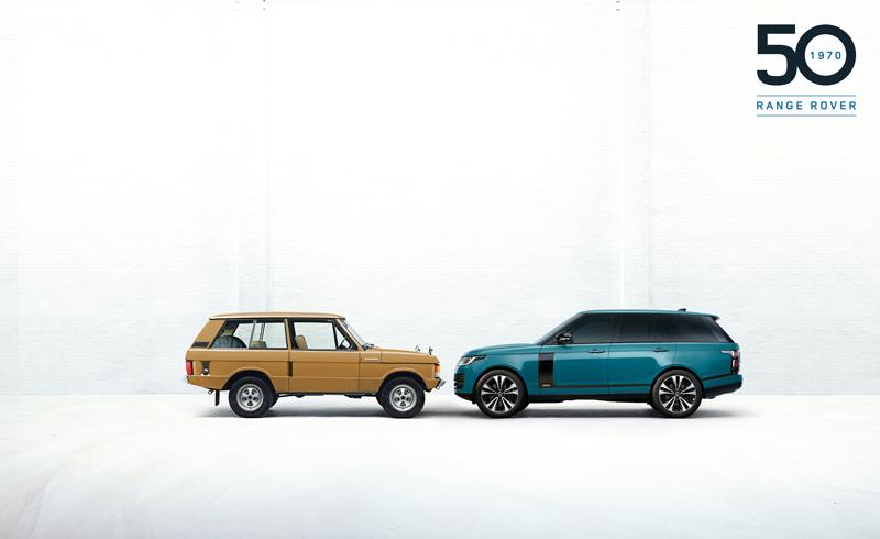 Sono passati 50 anni da quando il 17 giugno del 1970 Range Rover fece la sua apparizione sul mercato dei 4x4 di lusso. Range Rover Fifty.
