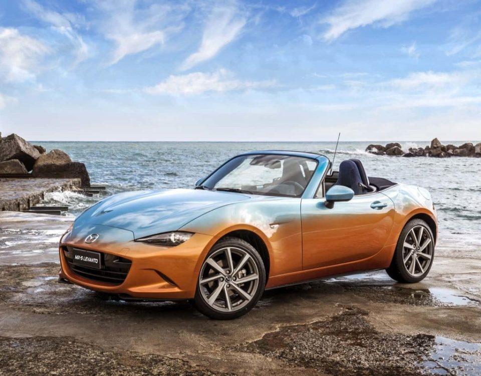 La ricercatezza del Denim è tale che Volksvagen e Mazda (MX-5) hanno voluto omaggiare l'iconico tessuto dedicandogli, ciascuno, uno dei suoi noti modelli.