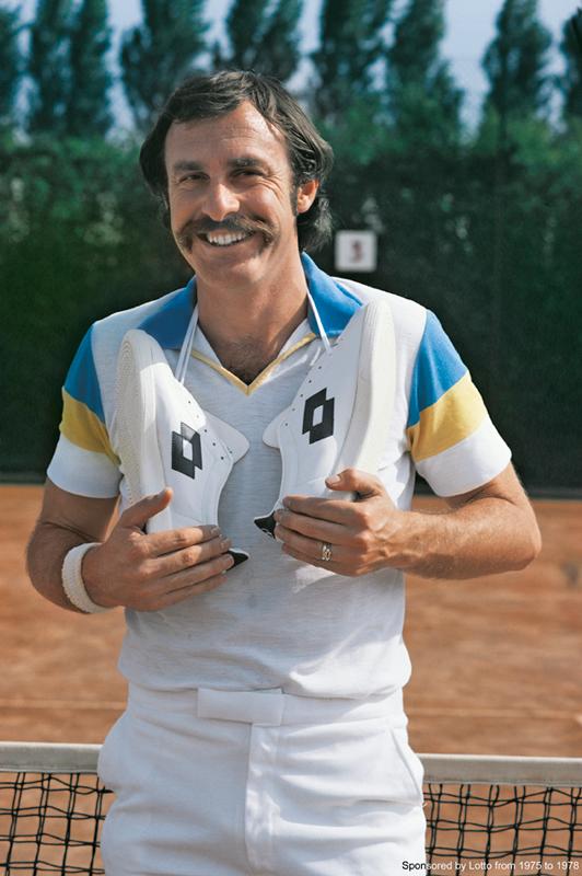 Lo storico marchio Lotto nasce nel 1973 a Montebelluna piccola cittadina in provincia di Treviso.Il logo due campi sovrapposti uno da tennis e uno da calcio