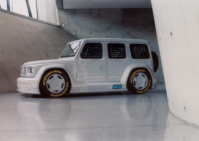 """L'interesse della Mercede-Benz in tutto ciò che riguarda l'arte è ormai storia nota e l'ultima creazione artistica è il """"Project Geländewagen"""""""