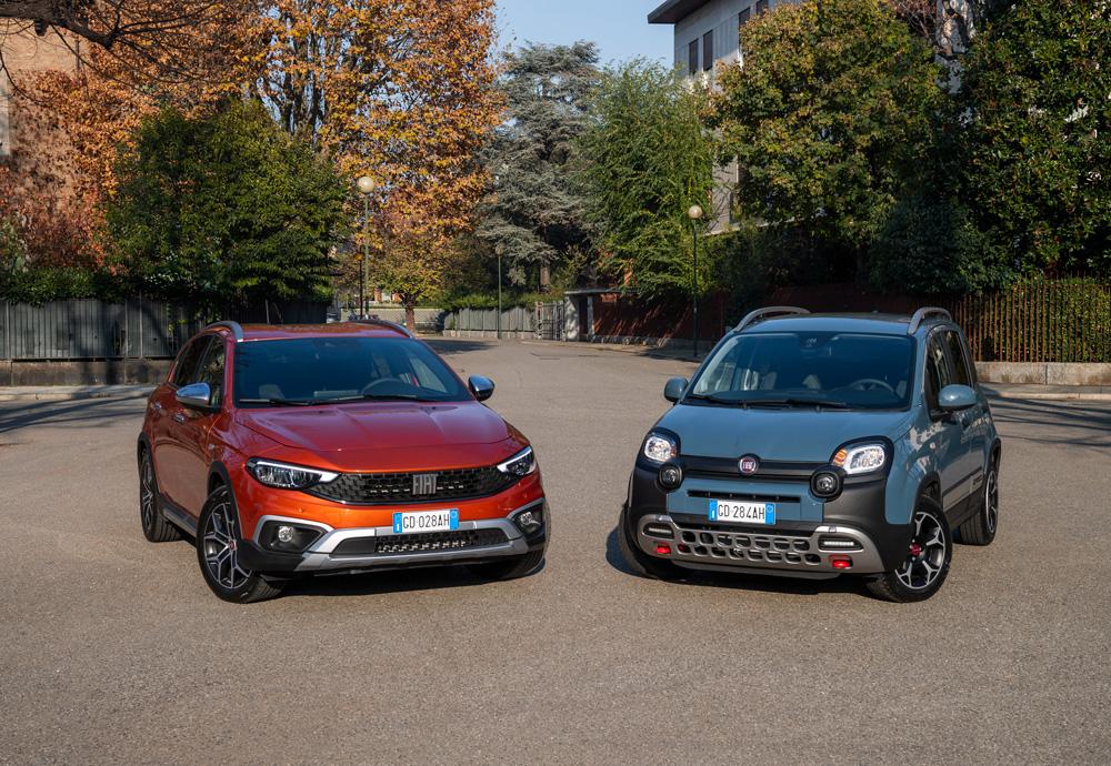 Fiat Panda e Tipo Cross la nuova idea dell'auto