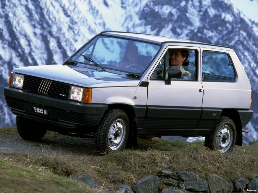 Fiat Panda 4×4 protagonista in ogni occasione