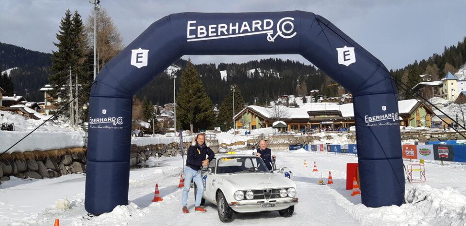 EBERHARD & CO. antica maison di orologeria svizzera torna a sfidare il tempo sulla pista come Official Timekeeper nella Winter Marathon.
