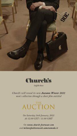 Church's presentazione collezione uomo aw_21