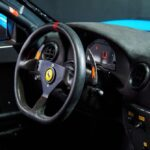 Ferrari 360 GT in livrea Gulf interno