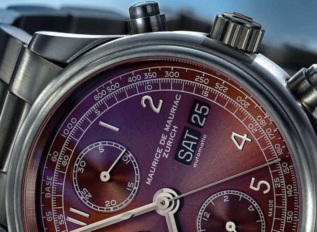 Maurice de Mauriac Chrono Classic 39 mm. ETA 7750