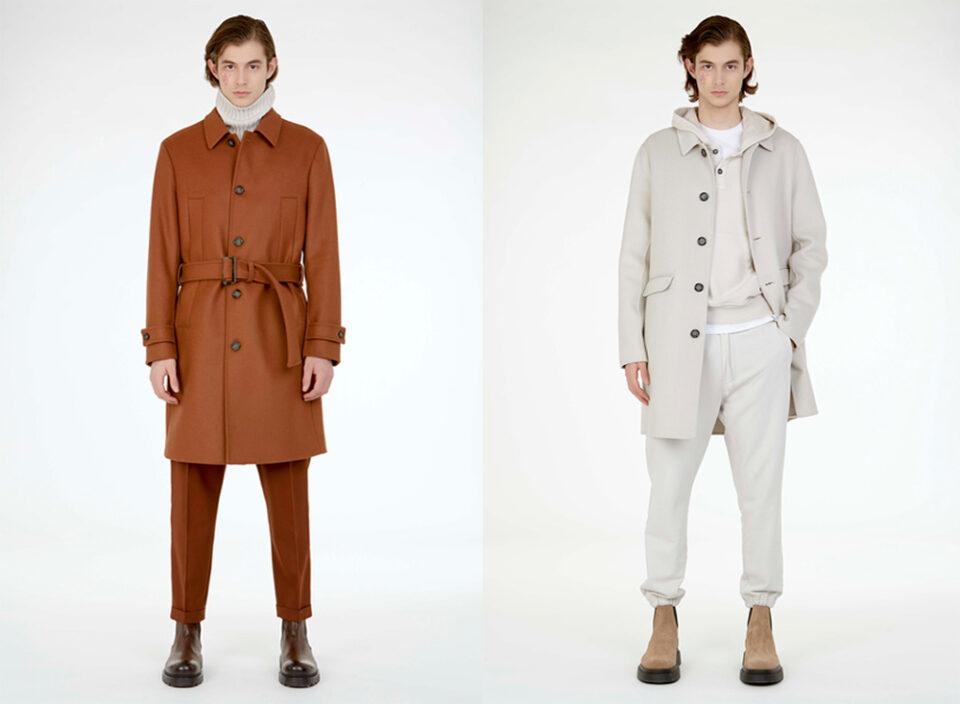 Paolo Pecora Milano mette in scena il cambiamento nello stile di vestirsi presentando Re-Envisioning Formalwear collezione A/I 21/22.