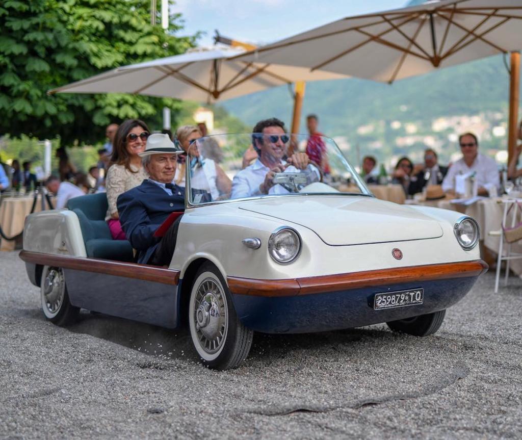 Simone Bertolero Luciano Bertolero Villa D'Este Fiat 500 Spiaggina appartenuta all'Avvocato Gianni Agnelli
