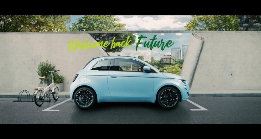Welcome Back Future fiat500 leonardo dicaprio