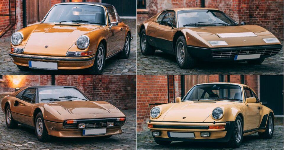 Le gold car a Parigi, il prossimo 13 febbraio si inaugura l'annuale asta di auto da collezione, nuove e d'epoca, organizzata da RM Sotheby's.