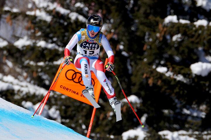 Cortina 2021 Alpine Ski World Championships. Lara Gut Behrami (SUI) Cortina d'Ampezzo