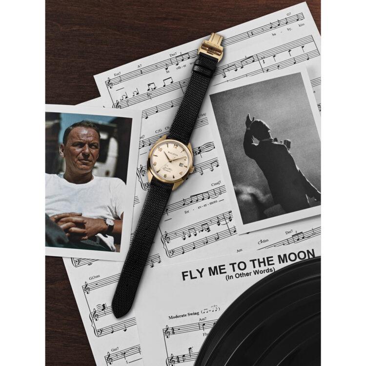 Bulova rende omaggio a Frank Sinatra, uno dei cantanti più celebri che il mondo abbia mai conosciuto creando una collezione a lui dedicata.