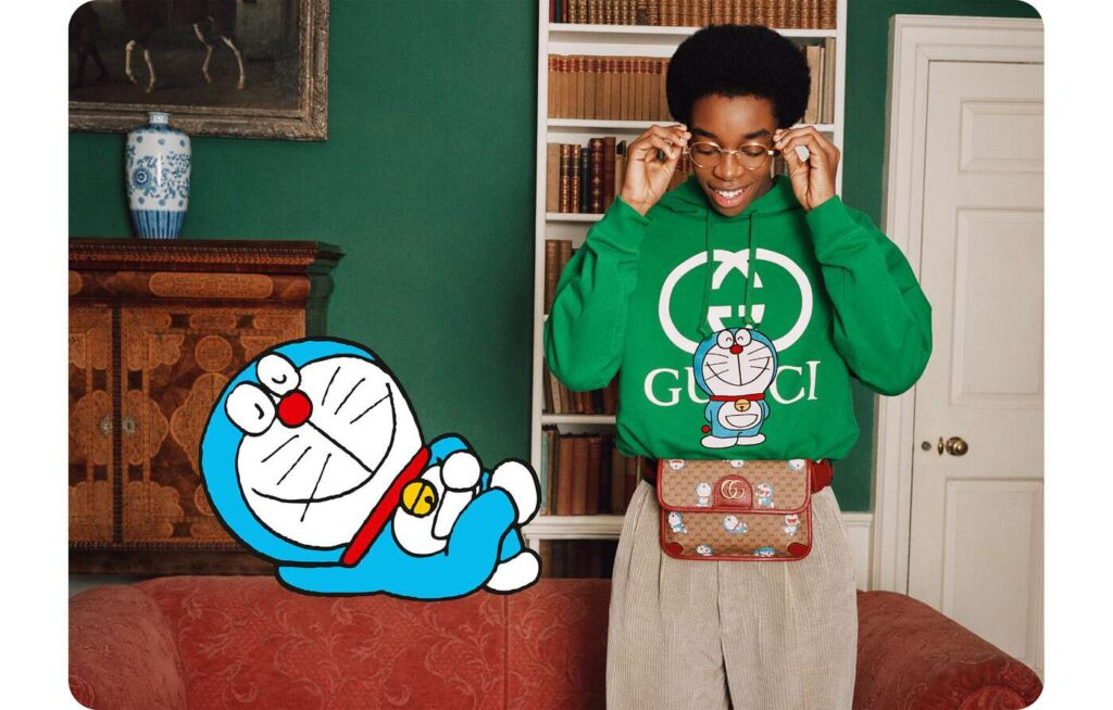 Doraemon per Gucci
