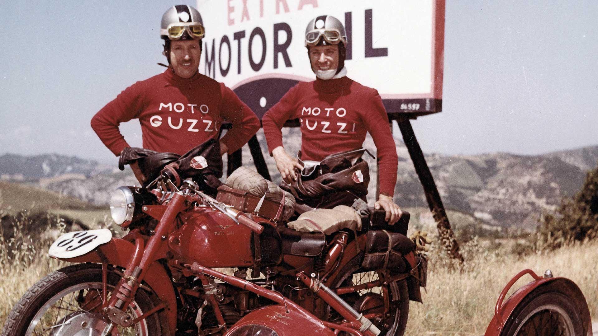 Moto Guzzi 100 anni di storia motociclistica