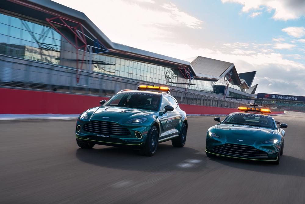 Aston Martin Cognizan presenta la nuova AMR21 monoposto che sarà la pretendente al titolo mondiale del campionato di F1 2021.