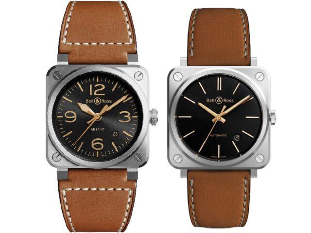 L'amore per l'aeronautica, le sfide, dalla ricerca dei limiti, il marchio francese d'orologeria Bell&Ross lancia la collezione Golden Heritage