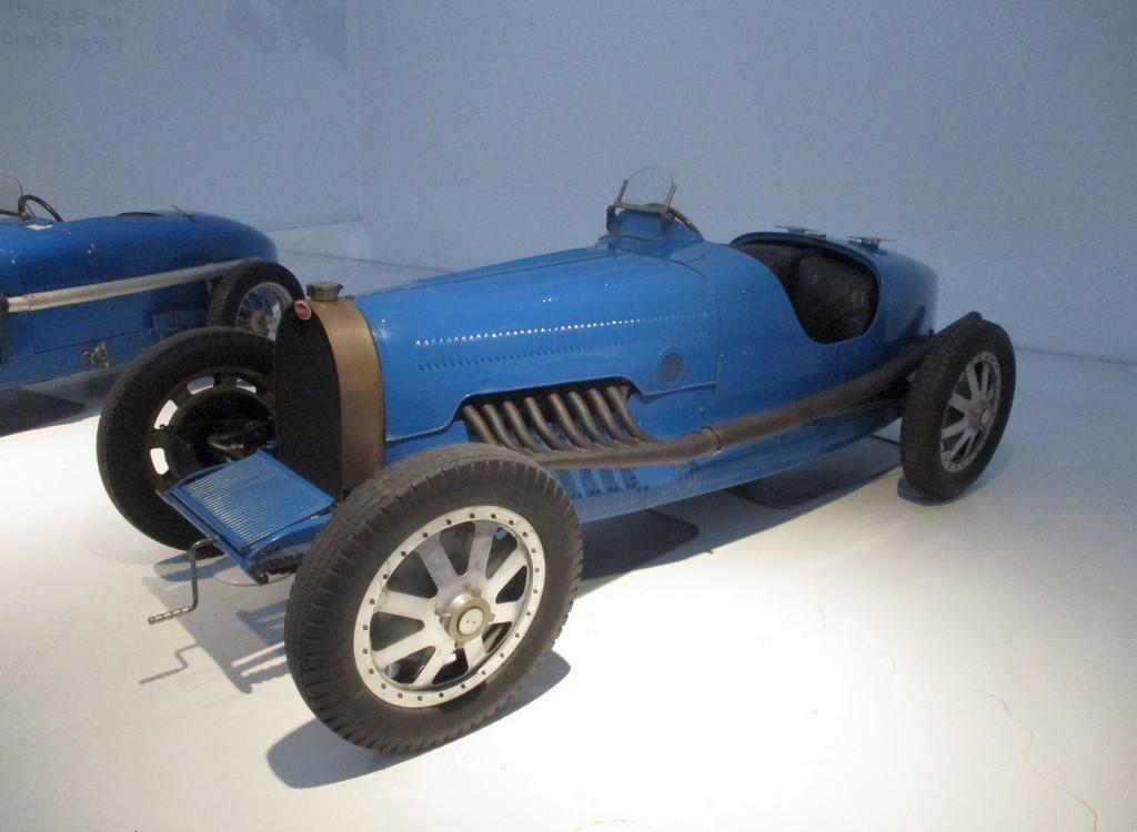 Le Monoposto 16 cilindri: Bugatti Type 45